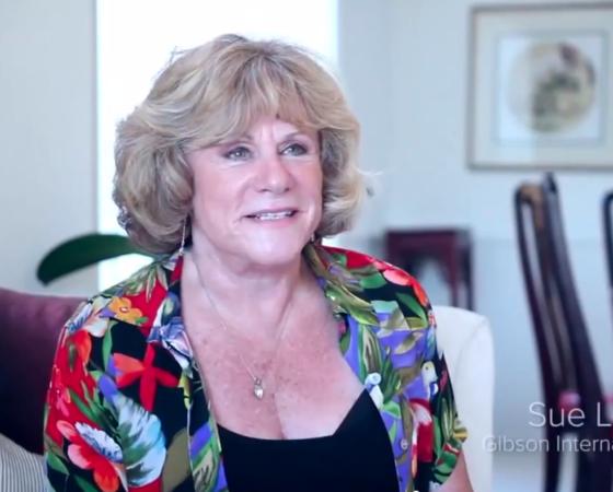 JeffJack client Sue Levitt